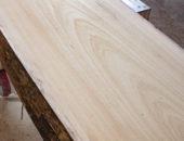 Производство слэбов из древесины абаш