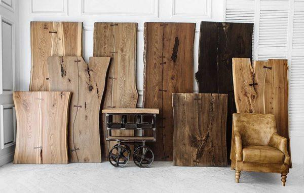 Производство слэбов из древесины абаш.