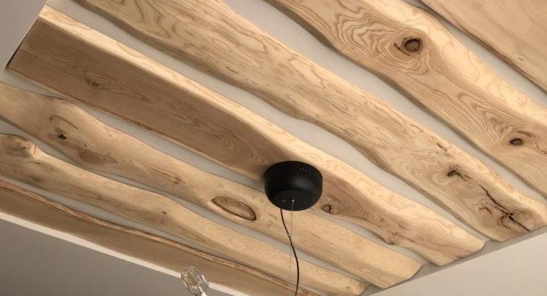 Декоративные панели из древесины